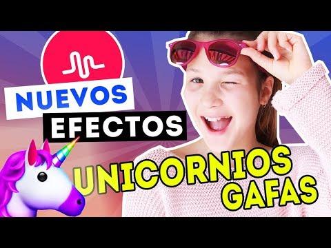 NUEVAS TRANSICIONES y EFECTOS para MUSICALLY   UNICORNIOS y GAFAS   Musical.ly   Daniela Golubeva