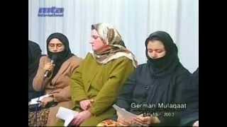 Meeting with German Ladies, 5 March 2003.