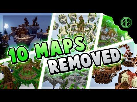 10 MAPS REMOVED FROM HYPIXEL SKYWARS!