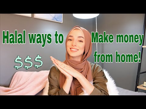 Halal Ways To Make Crazy Money From Home | How to earn money in halal way : Income in halal way :