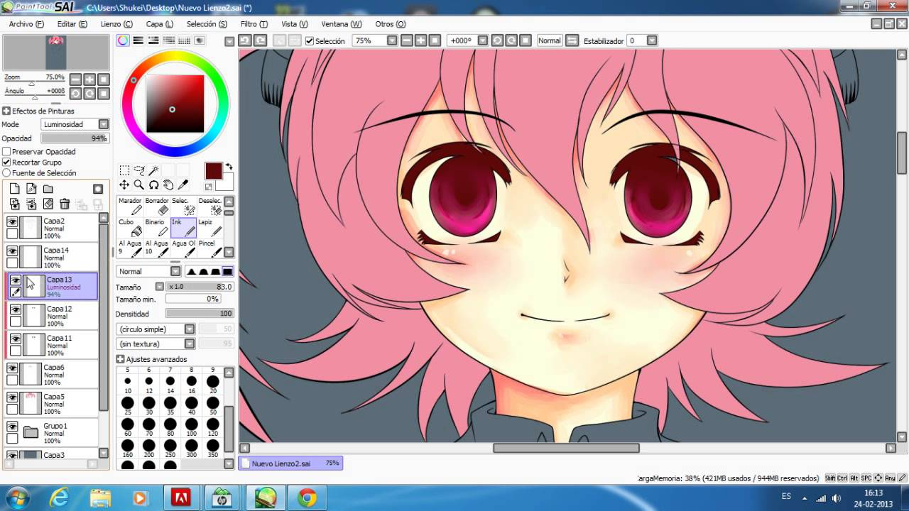 easy paint tool sai descarga