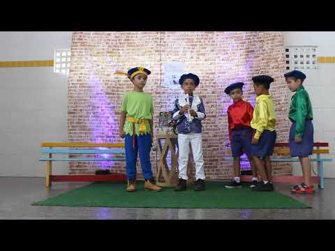 Assista: MaletaViajante É um sucesso atrás do outro. Davi Gabriel, Alejandro, João Carlos, João Victor, e Rafael. Com o tema: O Mágico da Flauta.