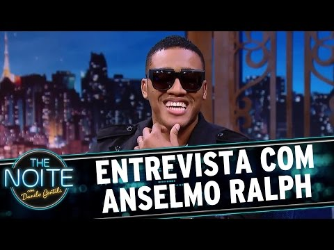 Entrevista com Anselmo Ralph   The Noite (07/04/17)