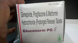 Gluconorm PG2 Tablet  Review