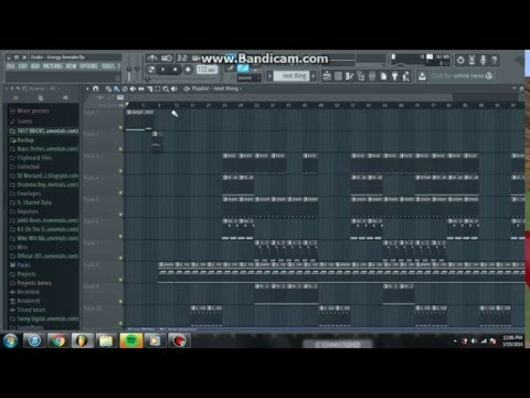 Drake - Energy Instrumental Remake (FL Studio 12)