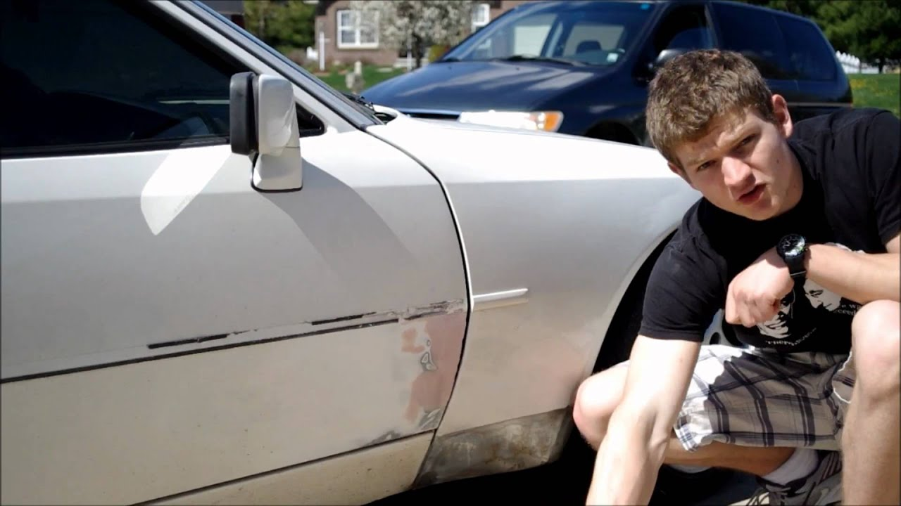 How To Fix Dents In Your Car Youtube