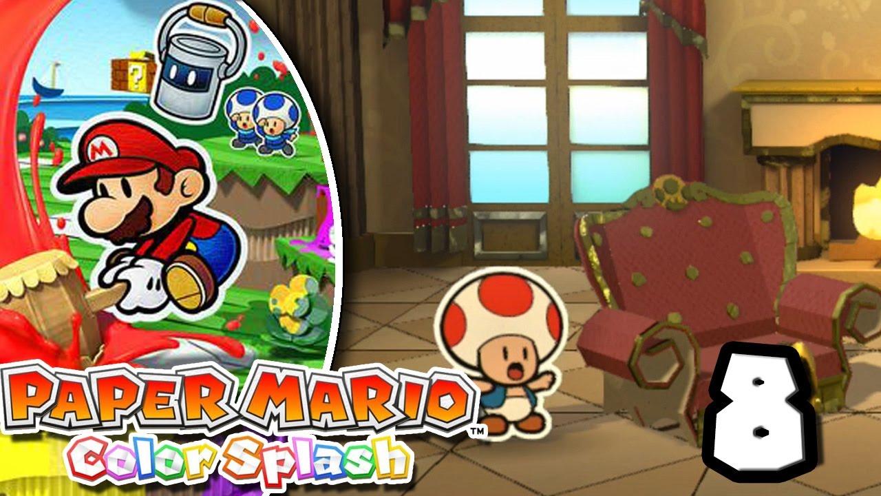 Mario decorador de interiores paper mario color splash - Decorador de interiores ...