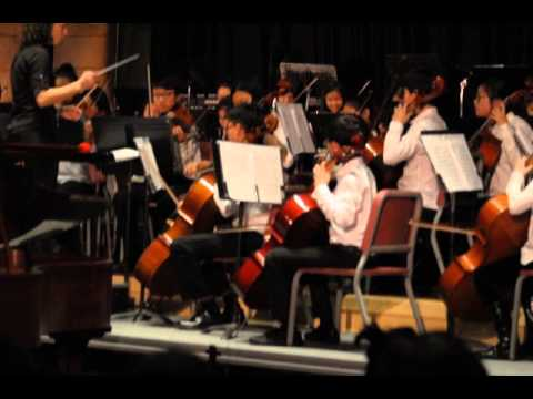 Mozart Symphony No.25, 1st Movement, Tenakill Middle School Orchestra, Closter