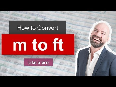 Wow Convert Meter To Foot To Ft