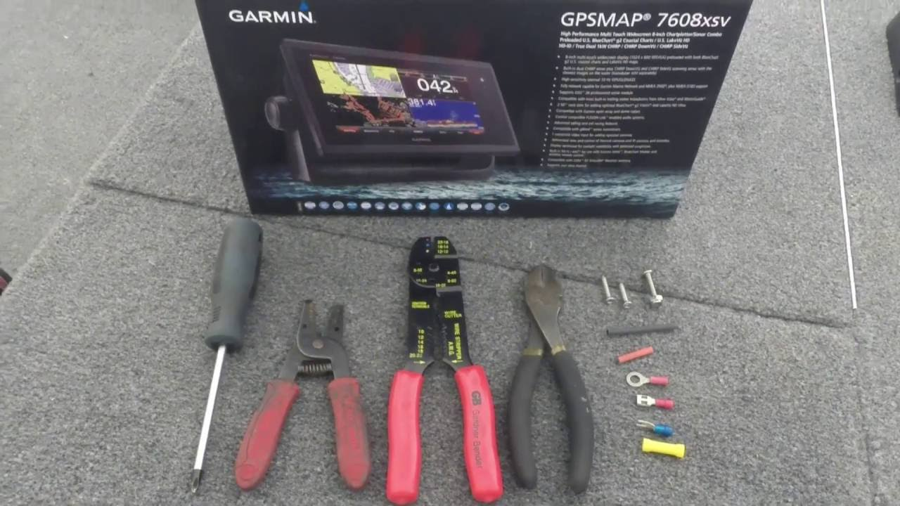 Gpsmap 7608xsv Installation Youtube Garmin Gps Battery Wiring Diagram