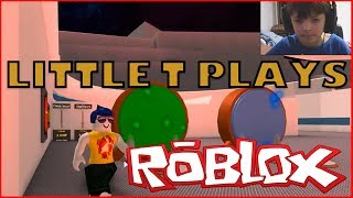 Little T Plays Roblox - Future Clone Tycoon 2 - Kid Friendly Roblox Gaming - Cam Face Reveal!
