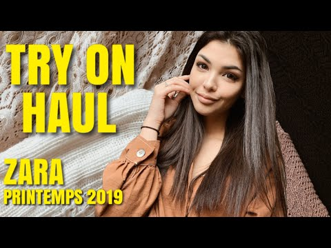 TRY ON HAUL ZARA MAJE PRINTEMPS 2019 Lisa Ngo
