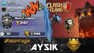 Th9 lavaloonion | Aysik's Attack - #montage | Clash of Clans