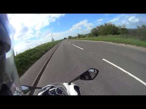 Motorcycle Test Ride -  Triumph Daytona  | KSFmotors