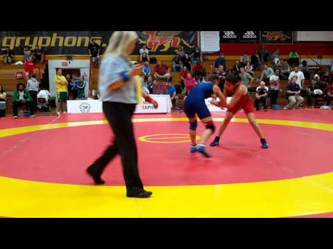 2015 Canada Cup: 53 kg Giulia De Oliveira (BRA) vs. Kristina McLaren (CAN)