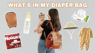 What's In My Diaper Bag   Minimal Everyday Essentials