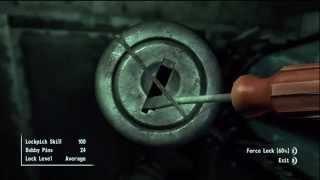 Fallout 3: Brotherhood of Steel Citadel Secret/Hidden Special RARE Weapon Armory