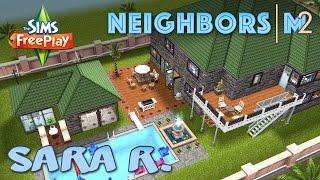 Sims FreePlay Sara R s House Neighbor s Original House Design YouTube