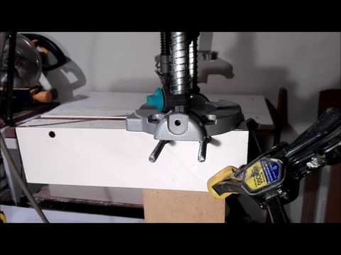 WOLFCRAFT 4522 Tec Mobil Drill Stand  ,, JIG ,, (Dowels, Doors )