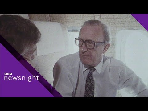 1981 - Lord Carrington and John Humphrys in the Far East - BBC Newsnight