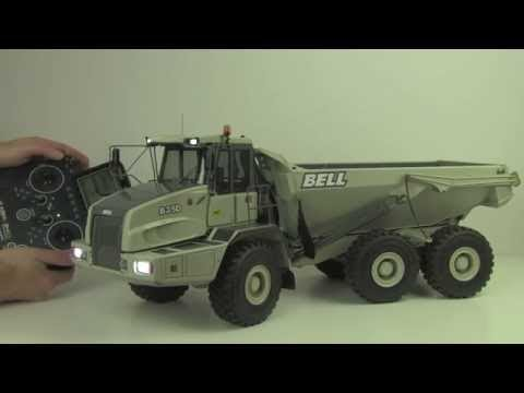 Unboxing & Review - HuiNa Toys 1540 RC Dump Truck - 2.4G 1/12 Scale & 6 Channel