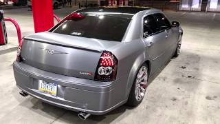 2006 Chrysler 300 SRT8 vinyl wrap completion