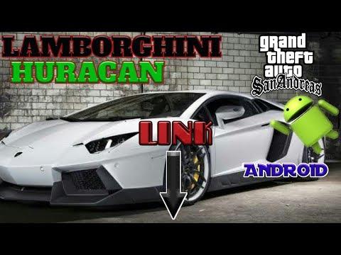 Super Car Mod | Lamborghini Huracan Dff Only | Gta Sa Android