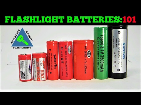 Flashlight Batteries 101: Quick and Simple Explanation