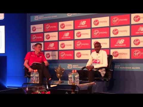 Mo Farah pre-London Marathon press conference, part I