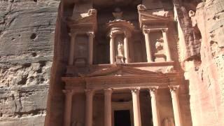 ヨルダン・世界遺産ペトラ遺跡:エル・ハズネ