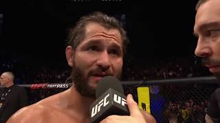 UFC London: Jorge Masvidal Octagon Interview