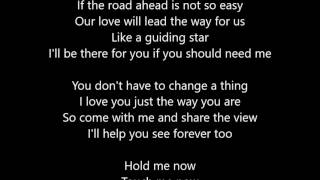 George Benson - Nothing's Gonna Change My Love For You - Lyrics Scrolling