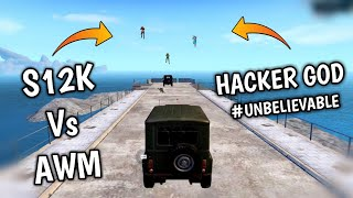 Most Expensive and Unique S12K hack available in pubg mobile - G Guruji - pubg mobile Hindi Gameplay