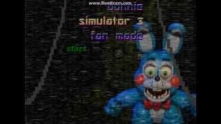 Bonnie Simulator 3 (Fan-Made)