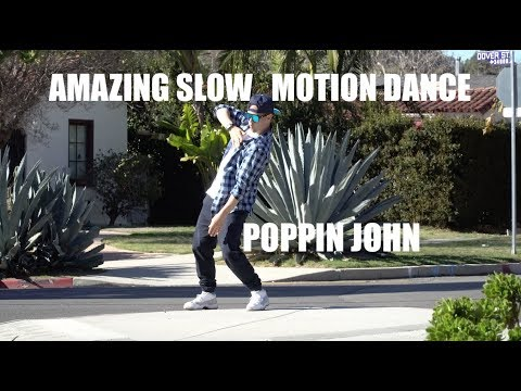EDITED? OR REALTIME? | AMAZING SLOW MOTION DANCE