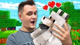 Znalazłem Mojego Psa HEKTORKA - Minecraft Survival #2