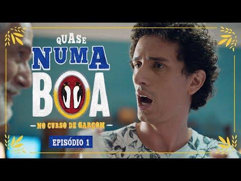 #QuaseNumaBOA - No Curso de Garçom | Ep. 1 | BOA