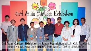 3rd Asian Cartoon Exhibition in India : Dec.1998