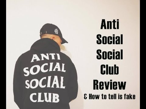 9d4bec324e3e Anti Social Social Club Fake or REAL  - YouTube