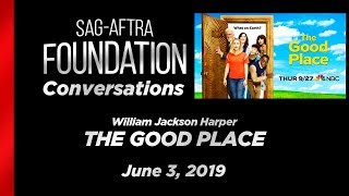 Conversations with William Jackson Harper of THE GOOD PLACE