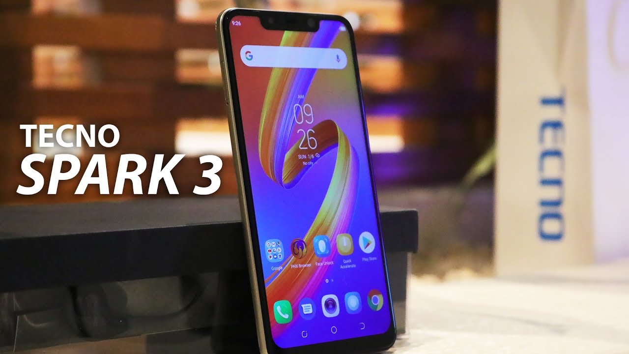 75cd2b2c8 Tecno Spark 3/3 Pro Hands on and First Impressions - YouTube