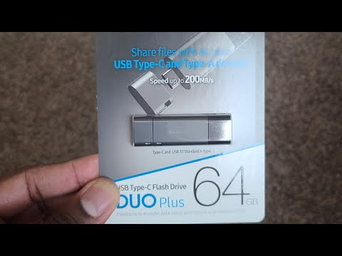 Samsung DUO Plus Type C USB Flash Drive! 64GB