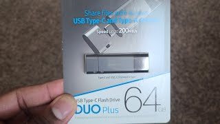Samsung DUO Plus Type C USB Flash Drive! 64GB