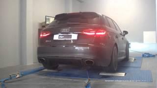 Audi RS3 tfsi 367cv AUTO Reprogrammation Moteur @ 412cv Digiservices Paris 77 Dyno