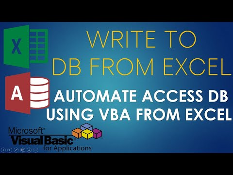 S02E02-Append Or Write Data To Access Database Using VBA. Part-1