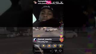 Funnymike Speaks on nba youngboy beef with Blvd Quick