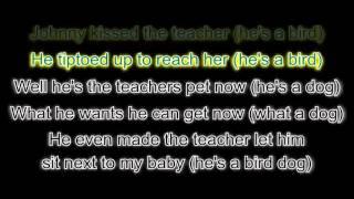 Everly Brothers - Bird Dog (with lyrics)