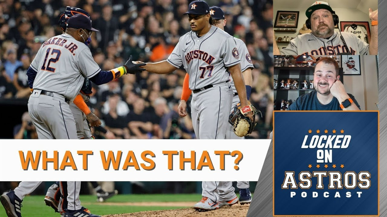 Astros vs White Sox live updates: ALDS Game 4 rained out as ...