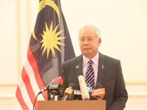 Kenyataan Perdana Menteri, Datuk Seri Najib Razak berhubung persetujuan mengenai MH17