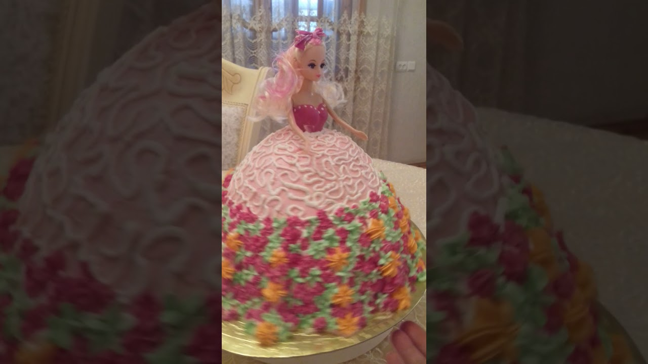 Barbi Tortu. Kukla tortu. Торт  кукла Барби